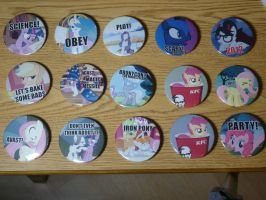 Pony Pin Collection by sparklepeep