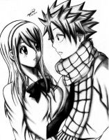 natsu and lucy:my first encounter by esbelle