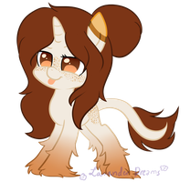TaquitoQueen's Pony OC - Art Trade by Dreamilicious