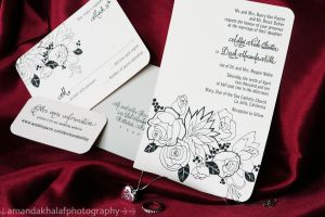 Beautiful Wedding Invite by amandascene