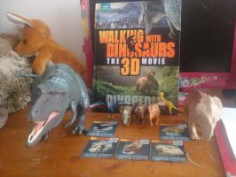 Walking with dinosaurs collection by Creepy-Stag-Waffle