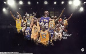Shaq Lakers Legend Wallpaper by Angelmaker666