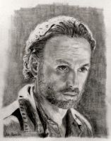 Rick Grimes in  The Walking Dead (re) by shuckaby