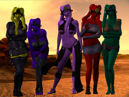 Twilek group on tat by damanname