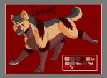 .:Cannon character ref:. by hakura-lives