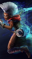 Ekko - The Boy who Shattered Time by RinTheYordle
