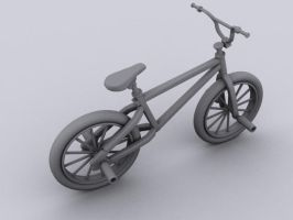 BMX wip by dmonuk