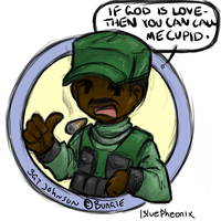 Halo - Sgt. Cupid by Albel