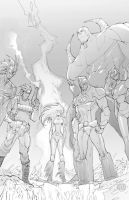 Wildcats by johnnymorbius