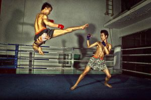 Kick boxing 03 by AllenHwong