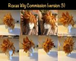 Commission::Roxas Wig 3.0 by Faxen
