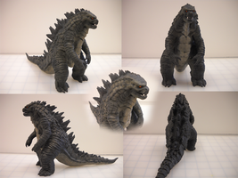Godzilla 2014 Sculpt Mark 3 Compilation by kaijugroupie84