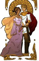 King and Queen of Camelot by yamiswift