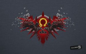 Blazing Eagle_Wallpaper by deviantWEAR
