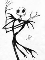 Jack the Pumpkin king by andyk1
