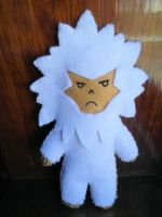 League of Legends Yeti plushie by PandaS2Cookie