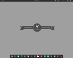 gnome 3.12.2 on arch by Localizator