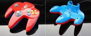 Custom super mario N64 controller by Zoki64