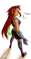 Starfire by feitian