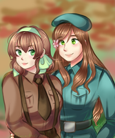 APH- Hun and Belgie by SmartasticalArt