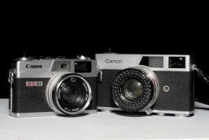 Old and new: Canonet by Matthewkwok1984