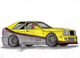 81' Audi Quattro by Mister-Lou
