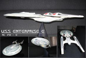 USS Enterprise E Model by Epe