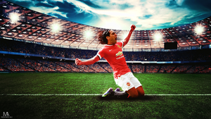 the Panther Falcao Wallpaper by mostafarock