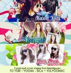 PACK PSD COVER - YULYOONSIC by NekoNguyen