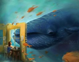 The Whale Dream by Lii-chan