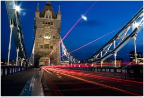 London, Tower Bridge 1 by flemmens