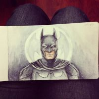 Day 6 - Batman by Alejandra-perez