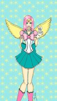 Sailor Fluttershy-My Little Sailor Senshi by Mysterious-Aya