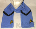Star Trek - Medical and Science Scarf by AKawaiiBoutique