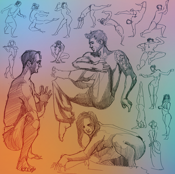 Daily Gesture 288 by abrahamdavid