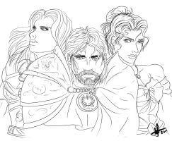 The Couslands - Sketch by TheOneKnight