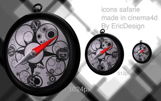 safari icons by 3DEricDesign
