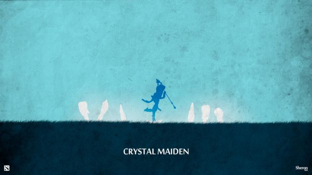 Dota 2 - Crystal Maiden Wallpaper by sheron1030