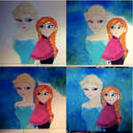 Frozen Anna Elsa (Steps 5-8) by SummerBaby01