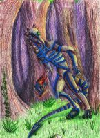 Ghost in a Forest by Tobizord