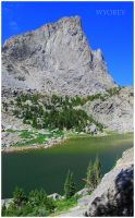 Warbonnet and North Lake by wyorev