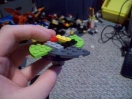 Divine Judgement beyblade (i made it from legos) by Bobinfinity