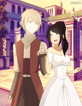 New FT Rpc - Prince Jacob and Princess Laouna by JunCassis