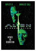 Alien Resurrection by inkjava