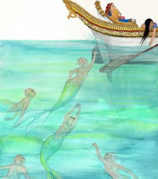 The princess on the Pea - boat by gerre