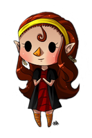 Mini chibi Mari by Coco-of-the-Forest
