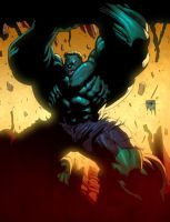 Hulk mondays 02 color by redeve