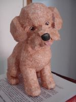 Poodle papercraft by bslirabsl