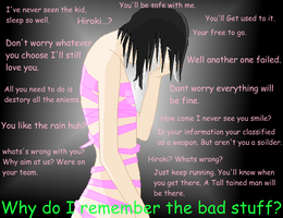 Why Do I have to remember by XBloodyHeartX