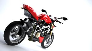 Ducati Streetfighter2010 Rear by Angrysmack